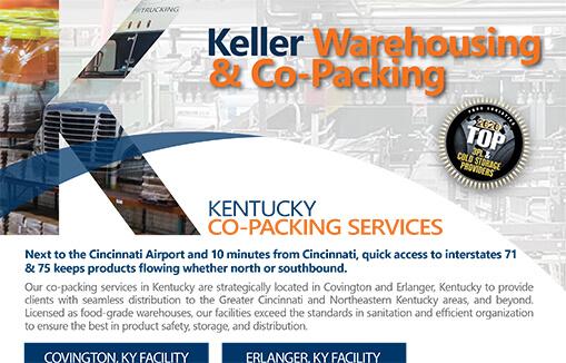 Keller Cincinnati Complex Flyer Keller Warehousing & Co-Packing